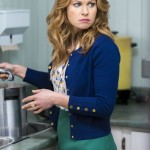 REAL MURDERS: AN AURORA TEAGARDEN MYSTERY - A mystery hits close to home for Aurora Teagarden, a librarian with a sharp mind for murder, when a member of the Real Murders Club she presides over is found dead. Aurora realizes the crime mirrors a case discussed by the club, and fears that one her members could either be the next target...or even the murderer!  With the help of a visiting mystery writer - and love interest - Aurora investigates the ongoing killing spree surrounding the club.  Aurora must use her sleuthing skills to solve the mystery before she or anyone else is a victim of real murder.  Photo: Candace Cameron Bure  Photo Credit:  Copyright 2015 Crown Media United States, LLC/Photographer: Eike Schroter
