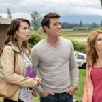 Aurora Teagarden is a beautiful young librarian with a passion for solving murders. After an exhaustive search for the perfect home, Aurora finally purchases her dream house, unaware of its murky history. As she prepares to move in, Aurora discovers that the family who once lived there mysteriously disappeared without a trace.  Photo: Lexa Doig, Yannick Bisson, Candace Cameron Bure  Credit: Copyright 2016 Crown Media United States LLC/Photographer: David Dolsen