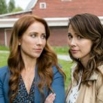 Aurora Teagarden is a beautiful young librarian with a passion for solving murders. After an exhaustive search for the perfect home, Aurora finally purchases her dream house, unaware of its murky history. As she prepares to move in, Aurora discovers that the family who once lived there mysteriously disappeared without a trace.  Photo: Miranda Frigon, Lexa Doig  Credit: Copyright 2016 Crown Media United States LLC/Photographer: David Dolsen