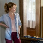 Aurora Teagarden is a beautiful young librarian with a passion for solving murders. After an exhaustive search for the perfect home, Aurora finally purchases her dream house, unaware of its murky history. As she prepares to move in, Aurora discovers that the family who once lived there mysteriously disappeared without a trace.  Photo: Candace Cameron Bure  Credit: Copyright 2016 Crown Media United States LLC/Photographer: David Dolsen